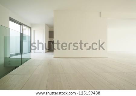 modern architecture, new empty apartment #125159438