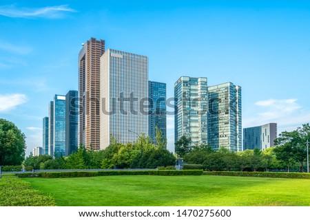 Modern Architecture of Urban Skyline