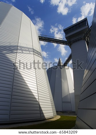 MODERN ARCHITECTURE OF  WASTE WATER FILTER