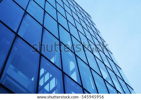 Modern architecture perspective view #545945956