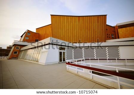 modern architecture, Philharmonie Berlin