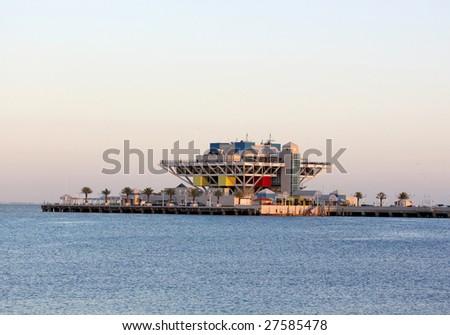 Modern Architecture, Pier in St. Pete Florida, USA