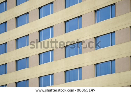 Modern architecture: Repeating patterns are uninteresting and boring to some