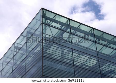 Modern Architecture. Stuttgart. Germany - Shutterstock ID 36911113