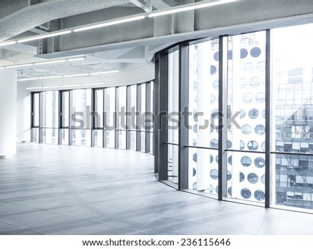 modern architecture with good condition/empty office/empty office