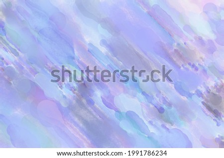 Modern art painting. Artistic watercolored backdrop material. Unique watercolor random pattern. Creative abstraction. Digital texture wallpaper. 2d illustration.