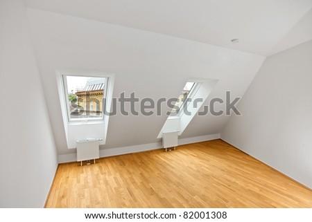 modern attic flat