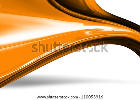modern background with abstract smooth lines