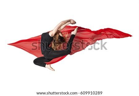 Modern ballet women dancers - series of photos #609910289