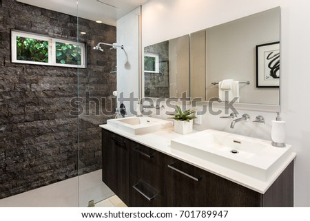 Modern Bathroom Design Custom Build