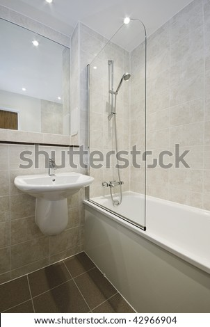 Wonderful Floor To Ceiling Tile Bath  Contemporary  Bathroom  Other Metro