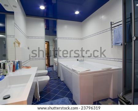 modern bathroom interior photo