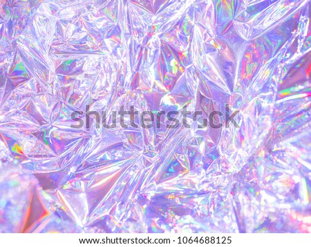 Modern beautiful holographic background in 80