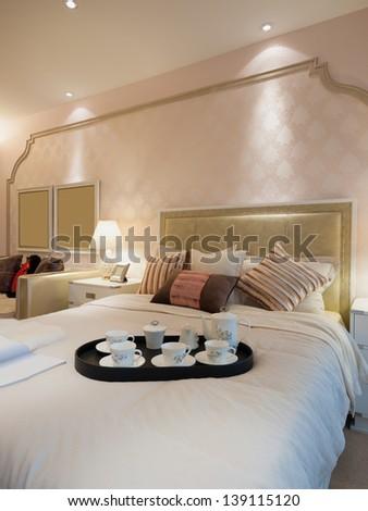 modern bedroom #139115120