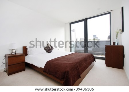 Modern bedroom interior #39436306