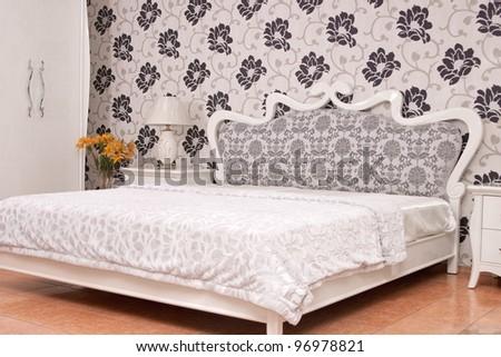 modern bedroom interior