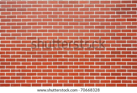 Modern brick wall - stock photo