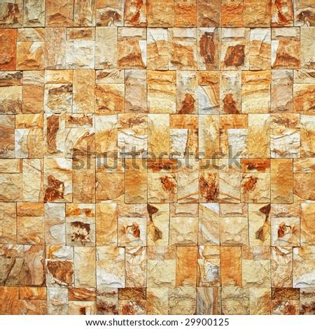 modern brick wall background - stock photo