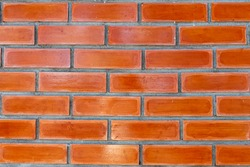 Modern brick wall background. Background of old brick wall texture.