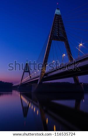Modern bridge #116535724