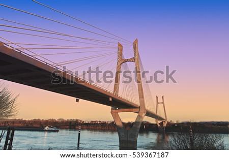 modern bridge #539367187