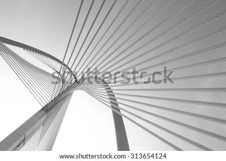 modern bridge architecture at...