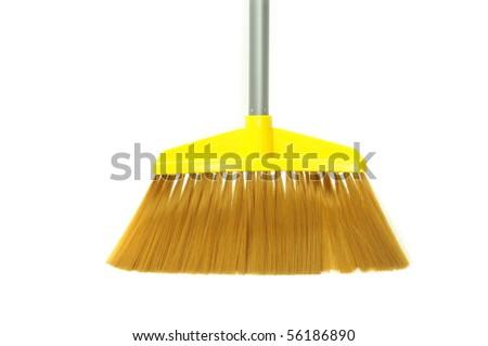 Modern Broom Made Of Plastic Material