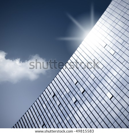Modern building - stock photo