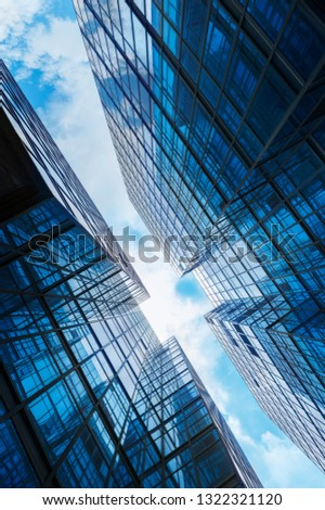 Modern building abstract background pattern #1322321120