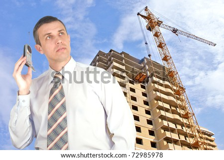 Modern building business allows to solve housing problems of many people