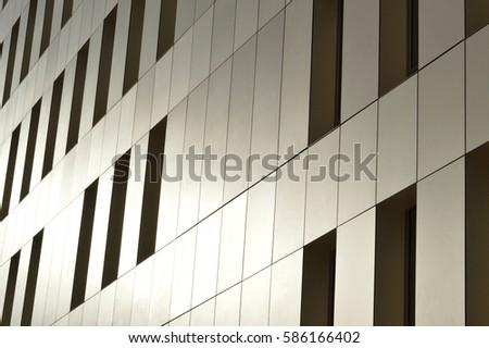 Modern building facade #586166402