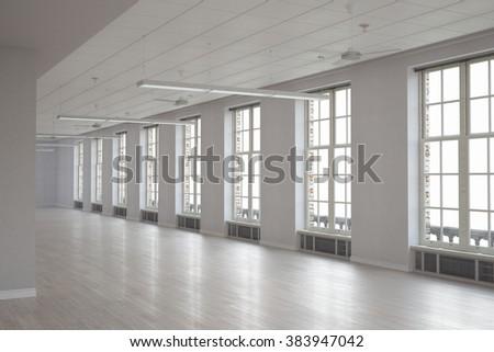 Modern building interior #383947042