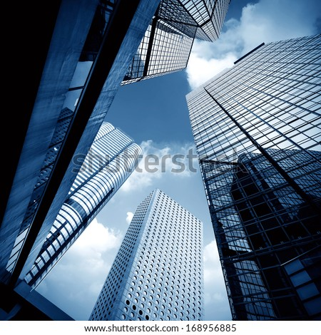 Modern building Landscape in Hong Kong #168956885