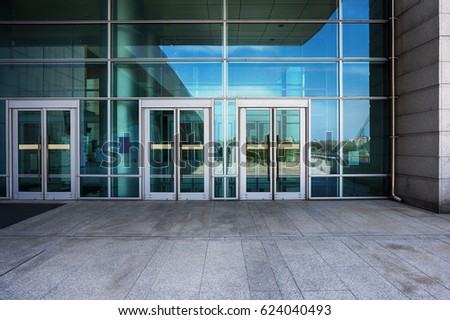 modern building outdoors #624040493