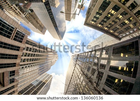 Modern Buildings of New York - USA