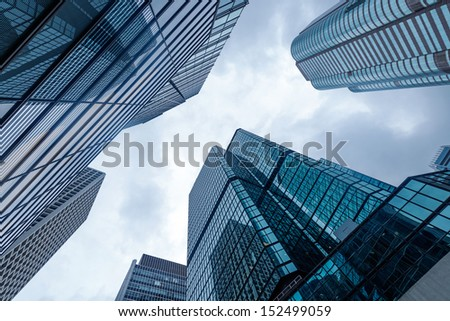 modern business center in hongkong #152499059