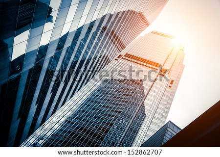 modern business center in hongkong #152862707