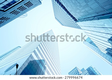 modern business center in hongkong #279996674