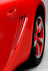 modern car closeup