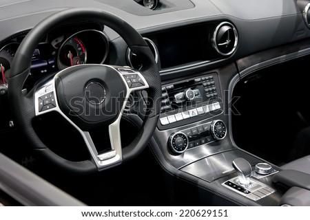 Modern car dashboard  #220629151