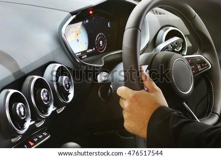 Photo of Modern car interior