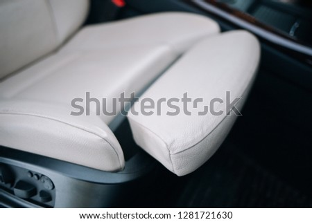 Modern car leather seat high performance material #1281721630