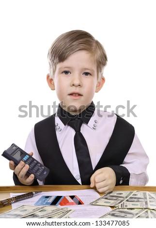 Modern children's game - the banker, financier