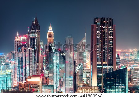 modern city architecture by...
