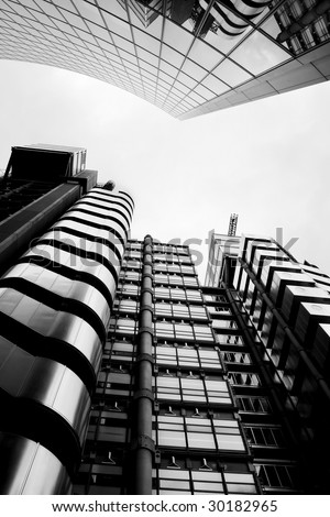 Modern City London Architecture