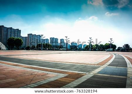 modern city park #763328194