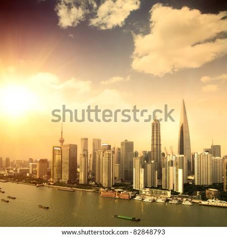 modern city -shanghai