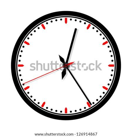 Modern clock icon.