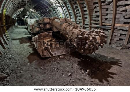 Modern coal mine