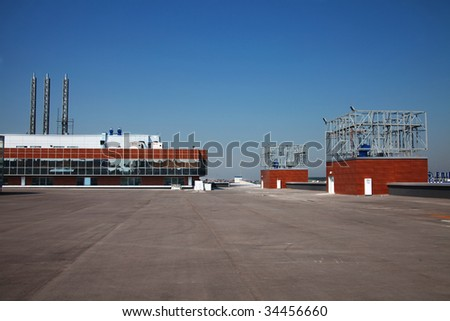 Modern Commercial Building - stock photo